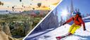 РАСПРОДАЖА Новогодних горнолыжных туров в Турцию от 600 EU с перелетом