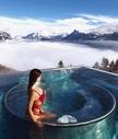 Nevada 3* - возвращение в отель прямо на лыжах
